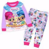 Shimmer Shine Pajamas Long Sleeve Sleepwear Best Buy