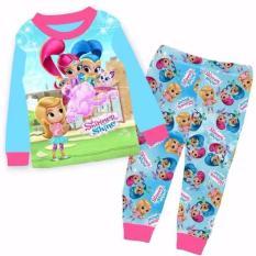 Buy Shimmer Shine Pajamas Long Sleeve Sleepwear Cheap On Singapore