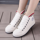 Cheap Korean Style Female Student Flat Shoes Women S Shoes White White