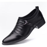 Versatile Men Winter New Shoes And Leather Shoes 7168 Black 7168 Black Deal