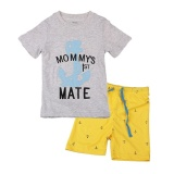 Sale Short Sleeve Boys Girls Pajama Sets For Kids Cotton Comfortable Children S Boys Girls Sleepwear Toddler Baby Infant Clothes Suit 1T 6T Intl Dizoon Online