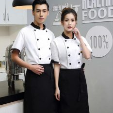 Hotel Chef Service Short Sleeve Summer Wear Catering Hotel Cake Kitchen Canteen Bakery Chef Work Clothes Short Sleeve By Taobao Collection.