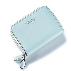 Short Wallet 2017 New Woman Short Wallet Korean Fashion Multi Double Zipper Wallet Card Green Intl Coupon Code
