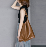 Store Simple Soft Students Bag Shoulder Bag Temperament Brown Other On China