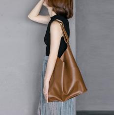 Compare Prices For Simple Soft Students Bag Shoulder Bag Temperament Brown