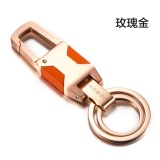 Sale Simple Car Key Chain Metal Key Chain Couple Personality Waist Pendant Creative Small Gift Customization Intl China