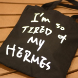 Simple Female Shoulder Fun Shopping Bag Origional Plain Weave Bag Black Hermes Price Comparison