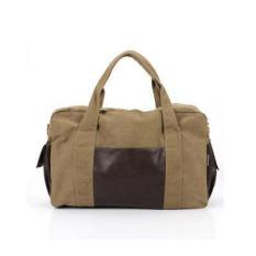 Sales Price Men Canvas Bag Simple Shoulder Bag