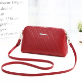 Where To Shop For Simple Middle Aged Mother Mini Bowler Bag Women S Small Bag Wine Red Color