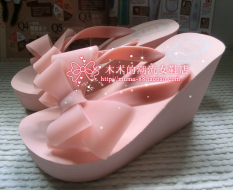 Discount Sindel Platform Muffin Beach Slippers Flip Flops Sweet N*K*D Powder Cm 5Cm Mid Code Sweet N*K*D Powder Cm 5Cm Mid Code China