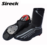 Sireck Cycling Shoe Cover Copriscarpe Ciclismo Waterproof Reflective Mtb Road Bicycle Bike Shoe Covers Overshoes Warm Boot Cover Grey Intl Shop