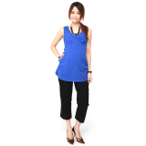 Buy Sleeveless Nursing Tank Top Blue