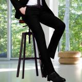 Price Slim Fit Men Suit Pants Work Office Formal Black Pants Casual Mens Business Trousers Intl Oem Original