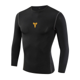 Great Deal Male Quick Drying Ultra Stretch Movement In Workout Tank Top Long Sleeved Bryant Black