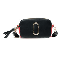 Cheaper Small Bag Female 2017 New Style Summer Spell Color Camera Bao Kuanjian With Small Square Bag Tide Fashion Messenger Bag Shoulder Bag Black
