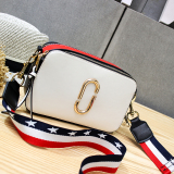 Get The Best Price For Women S Korean Style Broad Strap Square Bag For Camera White Distribution 2 Root Shoulder Strap White Distribution 2 Root Shoulder Strap