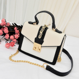 Where To Shop For Small Square Korean Style Female New Style Stereotypes Versatile Shoulder Bag M With White