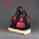 Price Comparisons For Small Square Nylon Cloth Double Layer Large Capacity Women S Bag Handbag Red