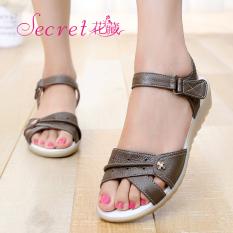 Discounted Leather White Flat Heel Plus Sized Women S Shoes Nurse S Shoes Khaki