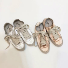 Where To Shop For Ulzzang Versatile Silk Flat Heel Shoes Shoes Champagne Color Upgraded Version Champagne Color Upgraded Version