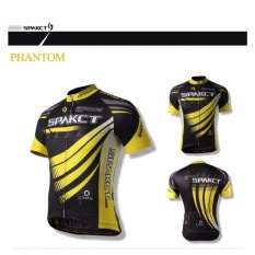List Price Spakct Men Cycling Sports Short Jersey Short Sleeve Full Zipper Phantom Yellow Short Jersey Intl Spakct