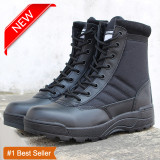 Price Special Offer High Quality Men S Tactical Boots Black Size 37 46 Intl Oem