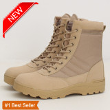 Discount Special Offer High Quality Men S Tactical Boots Khaki Size 37 46 Intl Oem On China