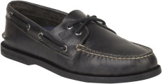 Review Sperry Authentic Original 2 Eye Orleans Boat Shoe Sts16610 Black On Singapore