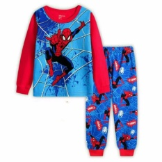Spiderman Pyjams Spider-Man Web Sleepwear Pajamas By Eddalabz.