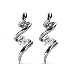 Who Sells The Cheapest Spiral Earrings Zirconia From Swarovski® Online