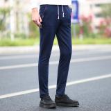 Buy Cheap Loose Spring Summer Thin Fitness Running Sweatpants Athletic Pants Dark Blue