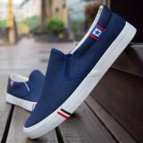 Sports Spring And Autumn Men S Canvas Shoes Canvas Blue Online