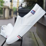 Where To Shop For Sports Spring And Autumn Men S Canvas Shoes Canvas White