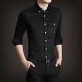 Jh Mb Men S Corduroy Long Sleeve Shirt Black Black For Sale