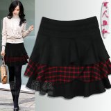 Retail British Style Spring And Autumn New Style Cake Skirt