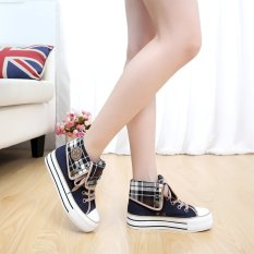 Korean Style Female High Top Student Shoes New Style Canvas Shoes On China