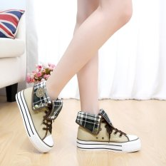 Buy Korean Style Female High Top Student Shoes New Style Canvas Shoes On China