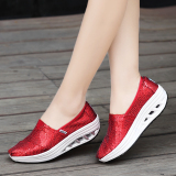 Price Spring And Summer Autumn New Style European And American Sequin Cloth Shoes At The End Of 5 Cm 2686 Paillette Red At The End Of 5 Cm 2686 Paillette Red Oem China