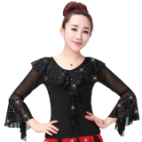 List Price Spring And Summer Square Dance New Style Top S30 Black Top Oem