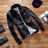 How To Get Spring Autumn Male Denim Coats Men Teenager Jackets Black Intl