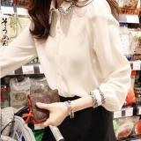 Spring Autumn Women Ladies White Shirt Elegant Slim Fit Bottoming Shirts Blouse Intl Lower Price