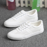 Sale Female Plus Sized To Help Low Velcro Sports Casual Shoes Leather Canvas Shoes White 621 321 On China