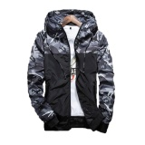 Spring Men S Camouflage Coat Mens Hoodies Casual Jacket Brand Clothing Mens Windbreaker Coats Male Outerwear Autumn Outdoor Coats Grey Intl On Line
