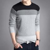 Best Men S Slim Fit Striped V Neck Long Sleeve T Shirt 803 Gray 803 Gray