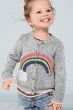 New Spring New Rainbow Cloud Baby Girls Boys Knitted Sweaters Outer Wear Toddler Children Sweater Kids Knitwear Clothes Intl