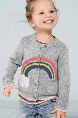 Compare Price Spring New Rainbow Cloud Baby Girls Boys Knitted Sweaters Outer Wear Toddler Children Sweater Kids Knitwear Clothes Intl New Brand On China