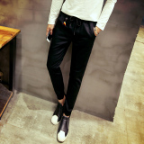 Discount Spring New Slim Fit Men Casual Pants K398 Black K398 Black Fisen China
