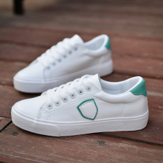 Compare Spring And Autumn New Style White Shoes White And Green White And Green Prices
