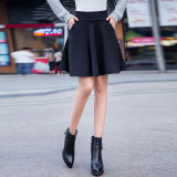 Compare Spring And Summer Slimming Plus Sized Pleated Skirt Midi Skirt