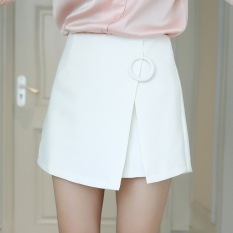 Discount Spring Summer The New Women S Clothing Han Edition Shorts Irregular High Waist Shorts Skirts Short Skirts Pants White Intl Oem China